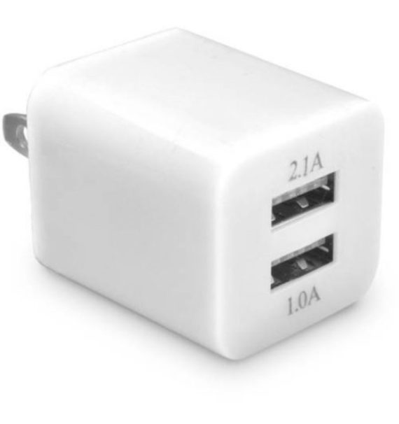 Ematic Dual USB 2.1-Amp Wall Charger