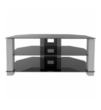 "Ematic Metal and Glass TV Stand for TVs up to 70 lbs and 62"" (ETVS670)"