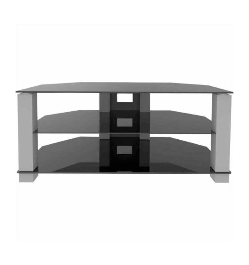 Ematic Metal And Gl Tv Stand For Tvs