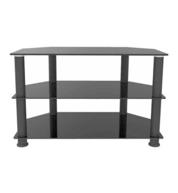 "Ematic Metal and Glass TV Stand for TVs up to 66 lbs and 62"" (ETVS660)"