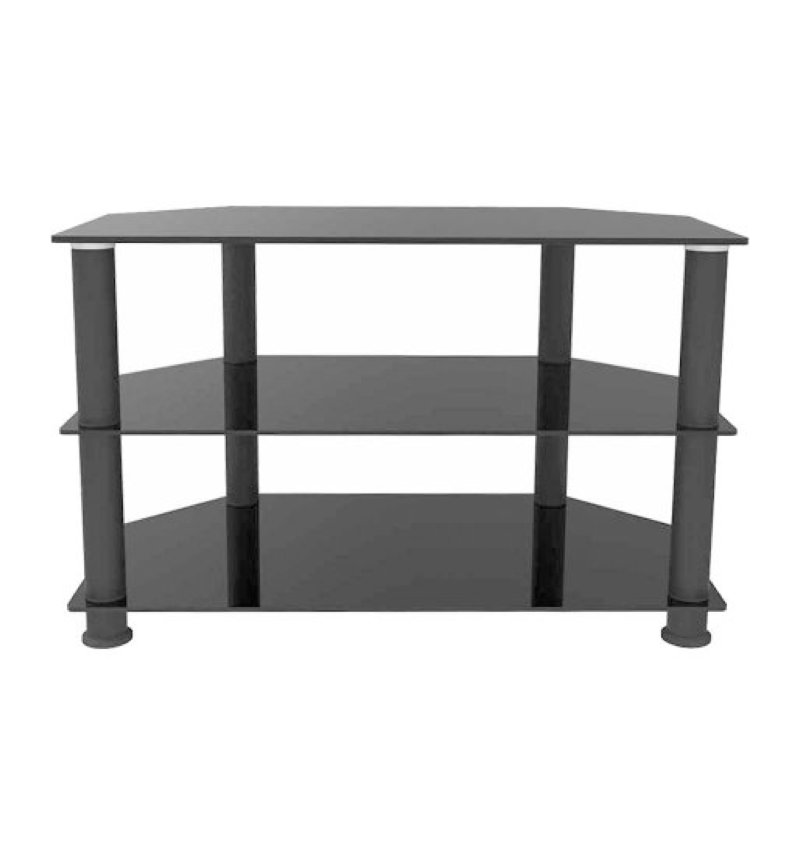 Ematic Metal And Glass Tv Stand For Tvs Up To 66 Lbs And 62