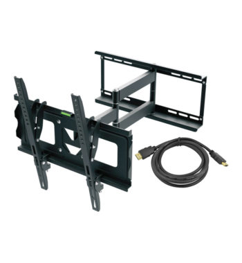 "Ematic Full-Motion TV Wall Mount Kit with HDMI Cable for 19"" - 70"" Displays (EMW5104)"