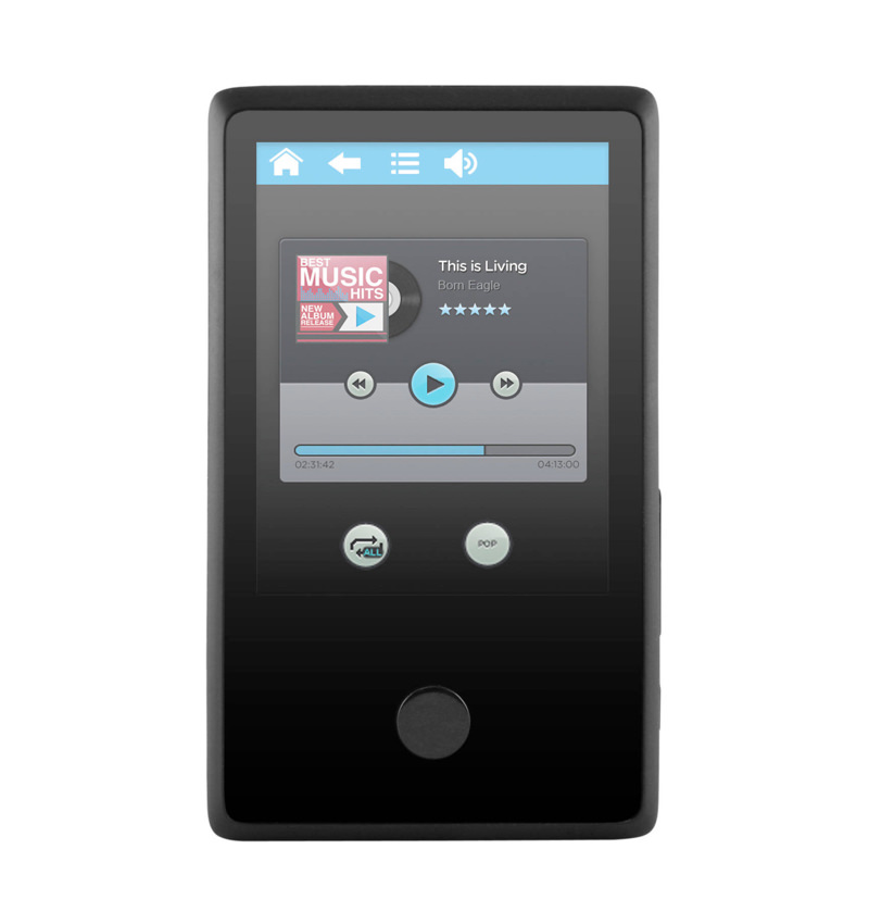 ematic 8gb 2 4 u2033 touchscreen mp3 video player with bluetooth ematic rh ematic us