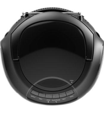 Ematic CD Boombox with AM/FM Radio, Bluetooth Audio and Speakerphone