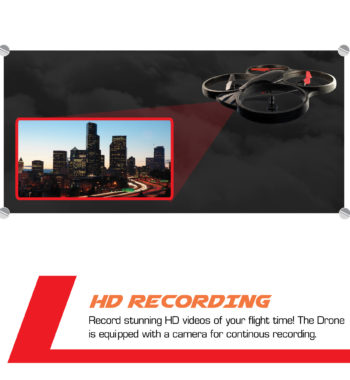 Equipped with HD Recording camera