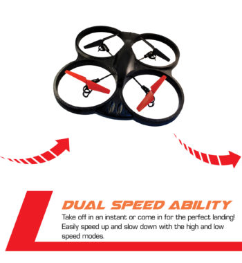 Dual speed ability for perfect landings