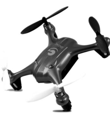 Ematic Nano Quadcopter Drone with 2.4GHz Control and 6-Axis Gyroscope, EDA204C