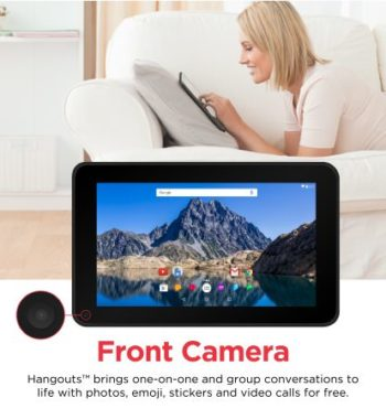 Front Camera with hangouts for one-on-one video calls