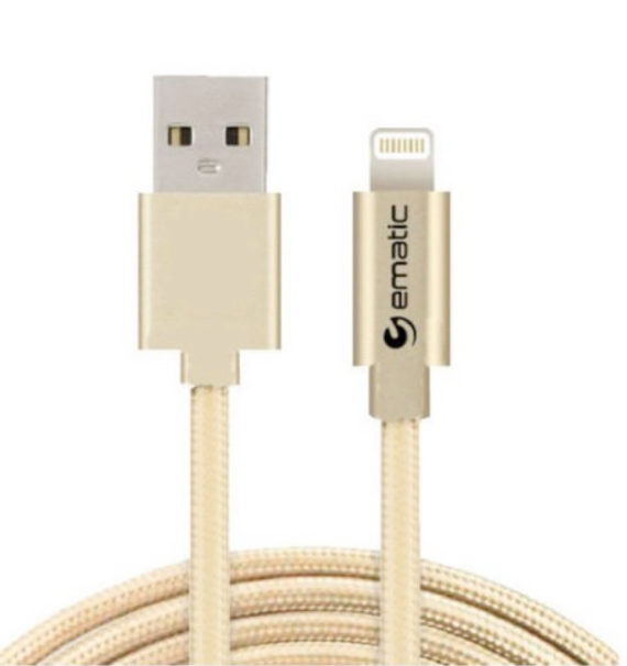 Ematic 2-in-1 Lighting and Micro USB Cable (3 Ft)