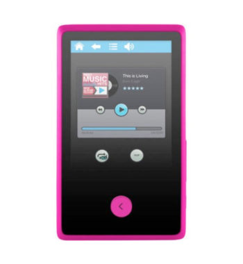 "Ematic 8GB 2.4"" Touchscreen MP3 Video Player with Bluetooth"