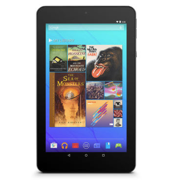"7"" Quad-Core Tablet with Android 5.0 Lollipop (EGQ347)"