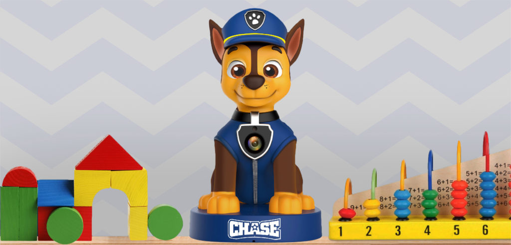 Feel safe with Chase! Check out the new Paw Patrol licensed baby monitor from Ematic
