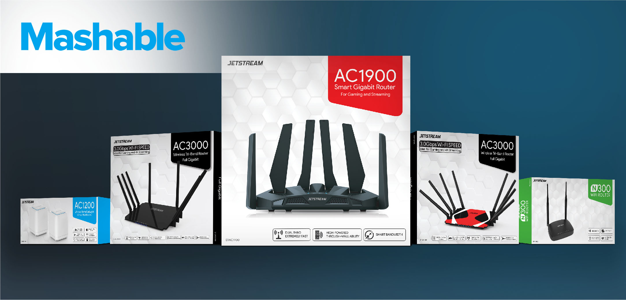 Jetstream is Walmart's new line of super affordable Wi-Fi routers and the prices are *really* good